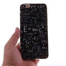 iPhone 6 (4.7 inch) TPU Cover, hoesje, case Mathematial formula print