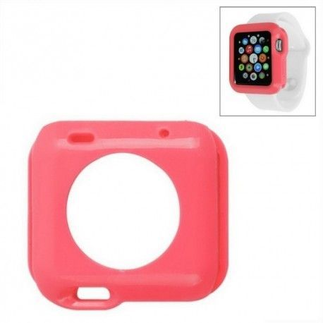 Apple Watch 42mm TPU hoesje, case, frontje Rood