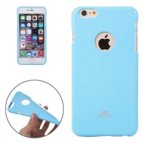 iPhone 6 Plus (5.5 inch) TPU Goosberry Cover, hoesje, case Blauw