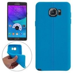 Samsung Galaxy Note 5 - hoes, cover, case - TPU - Blauw - Mat