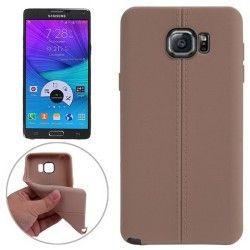 Samsung Galaxy Note 5 TPU case cover hoesje Beige Mat