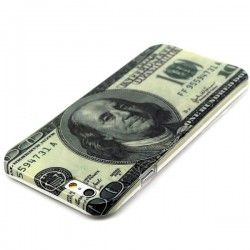 iPhone 6 (4.7 inch) One Hundred US Dollar TPU Cover, hoesje, case