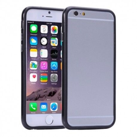 iPhone 6 Plus (5.5 inch) Bumper case, Cover, hoesje zwart