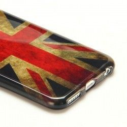 iPhone 6 Plus (5.5 inch) UK Vlag TPU Cover, hoesje, case