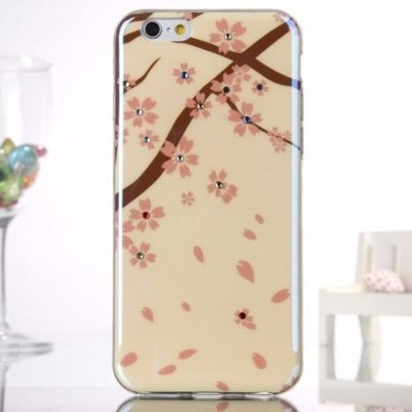 iPhone 6 (4.7 inch) Blu-Ray Soft TPU Cover, hoesje, case Beautiful tree