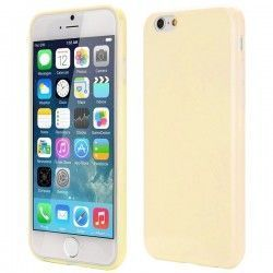 iPhone 6 (4.7 inch) TPU Cover, hoesje, case Beige