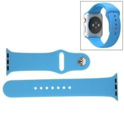 Apple Watch 38mm Siliconen Horlogeband Blauw (incl Connectors)