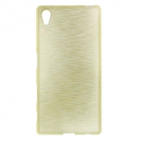 Sony Xperia Z5 TPU case, cover, hoes Brushed Champagne