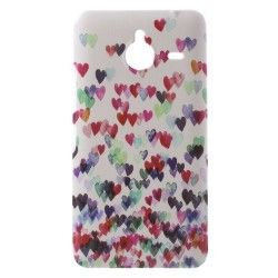 Microsoft Lumia 640 TPU cover, case, hoes hearts