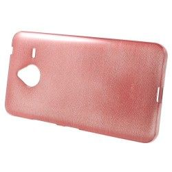 Microsoft Lumia 640 XL TPU cover, case, hoes Brushed Roze