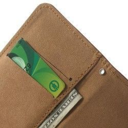 iPhone 6 / 6S (4.7 inch) Flip / wallet Cover, hoesje, case Bruin