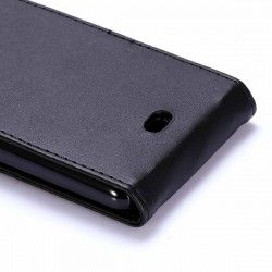 Microsoft Lumia 535 Flip cover, case, hoes Zwart
