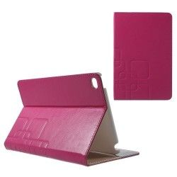 iPad mini 4 hoesje, case, cover met roze