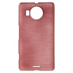 Microsoft Lumia 950 XL TPU Case cover hoesje Brushed Roze