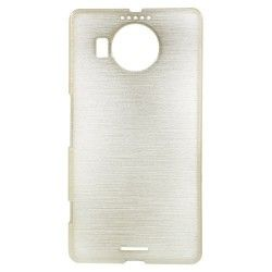 Microsoft Lumia 950 XL TPU Case cover hoesje Brushed Champagne
