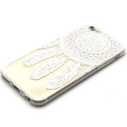 iPhone 6(S) (4.7 inch) Transparante TPU Cover, hoesje, case windbell