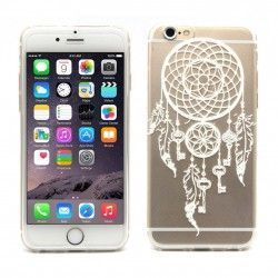 iPhone 6(S) Plus (5.5inch) Transparante TPU Cover, hoesje, case Dreamcatcher