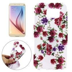 Samsung Galaxy S7 - hoes, cover, case - TPU -  Bloemen