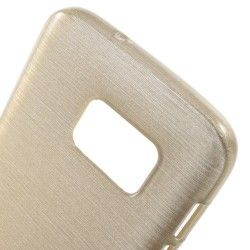 Samsung Galaxy S7 - hoes, cover, case - TPU -  Champagne