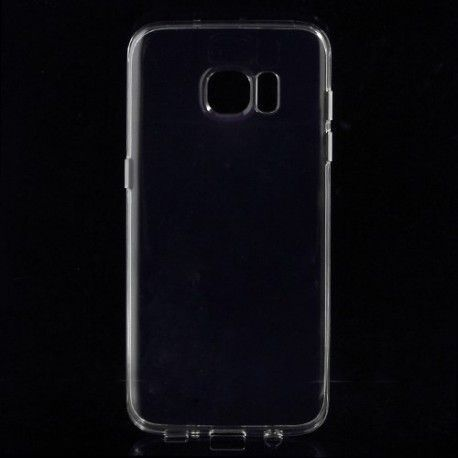 Samsung Galaxy S7 Edge - hoes, cover, case - TPU -  Transparant