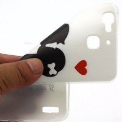 Huawei Ascend P9 - hoes, cover, case - TPU - liefde