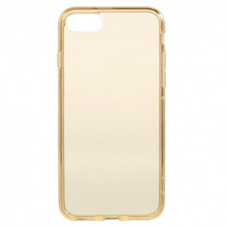 iPhone 7 (4.7 Inch) - hoes, cover, case - TPU - Transparant - Goud