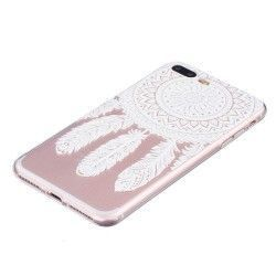 iPhone 7 Plus (5.5 inch) - hoes, cover, case - TPU - Transparant - Dromenvanger
