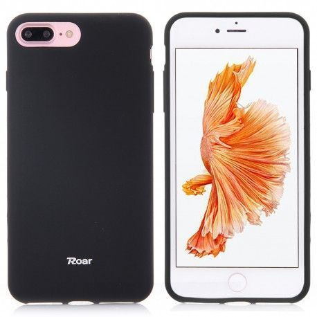 iPhone 7 Plus (5.5 inch) - hoes, cover, case - TPU - Zwart