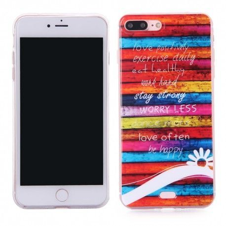 iPhone 7 Plus (5.5 inch) - hoes, cover, case - TPU -
