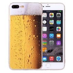 iPhone 7 Plus (5.5 inch) - hoes, cover, case - TPU - Bierglas