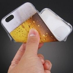 iPhone 6(S) Plus (5.5inch) - Hoes, case, cover - TPU - Bierglas