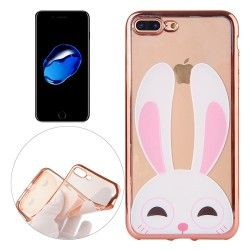iPhone 7 Plus (5.5 Inch) - hoes, cover, case - TPU - Konijn