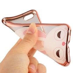 iPhone 6(S) Plus (5.5 inch) - hoes, cover, case - TPU - Konijn