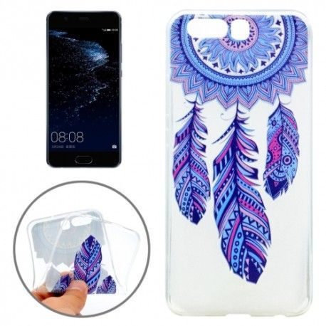 Huawei P10 - hoes, cover, case - TPU - Transparant - Dromenvanger