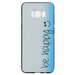 Samsung Galaxy S8 - hoes, cover, case - TPU -  Be happy
