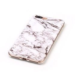 iPhone 7 Plus (5.5 Inch) - hoes, cover, case - TPU - Marmer print