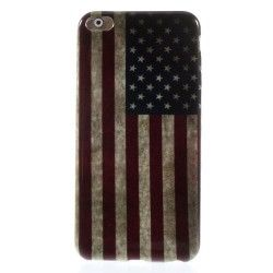 iPhone 6(S) Plus (5.5inch) - Hoes, case, cover - TPU - USA vlag