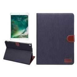 iPad Pro 10.5 - hoes, cover, case - PU leder - TPU - Stof - Denim