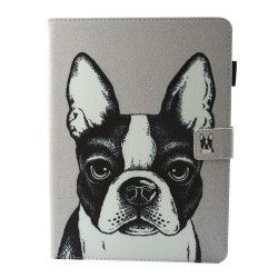 Samsung Galaxy Tab S3 9.7 - hoes, cover, case - PU leder - TPU - Hond