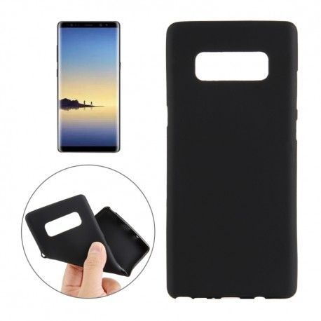 Samsung Galaxy Note 8 - hoes, cover, case - TPU - Zwart