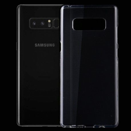 Samsung Galaxy Note 8 - hoes, cover, case - TPU - Transparant