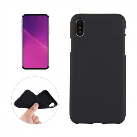 iPhone X - hoes, cover, case - TPU - zwart