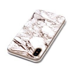 iPhone X - hoes, cover, case - TPU - Marmer print