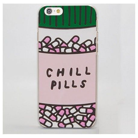 iPhone 8 Plus / 7 Plus (5.5 Inch) - hoes, cover, case - PC - Chill pills