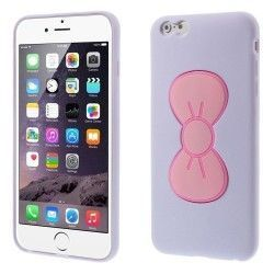 iPhone 6(S) Plus (5.5 inch) - hoes, cover, case - TPU - Cute Bowknot