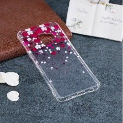 Samsung Galaxy S9 Plus - hoes, cover, case - TPU - Transparant - Hartjes