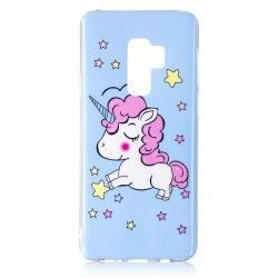 Samsung Galaxy S9 Plus - hoes, cover, case - TPU - Unicorn