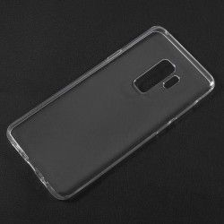 Samsung Galaxy S9 Plus - hoes, cover, case - TPU - Transparant