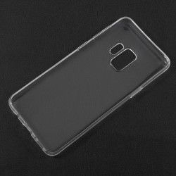 Samsung Galaxy S9 - hoes, cover, case - TPU - Transparant