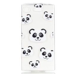 Sony Xperia XZ1 - hoes, cover, case - TPU - Panda